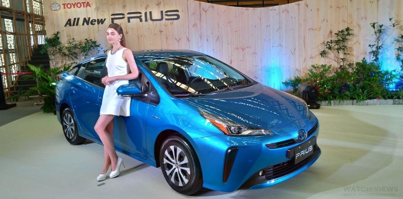 Toyota日本原裝Prius登台 安全科技高達32項