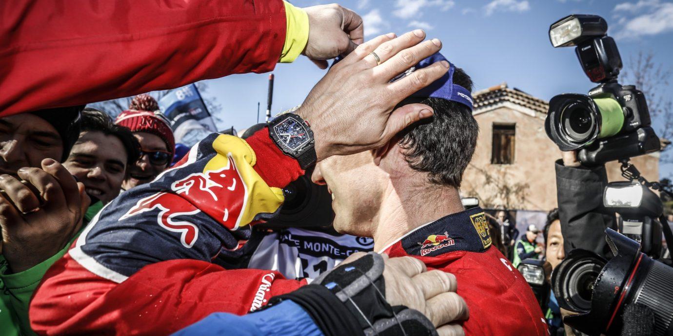 第87屆蒙地卡羅汽車拉力賽:RICHARD MILLE贊助的賽車手Sébastien Ogier及Sébastien Loeb表現出色