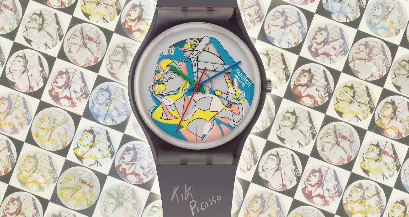 百萬級Swatch拍品坐鎮:「Swatch Loves Art」x 限定快閃店