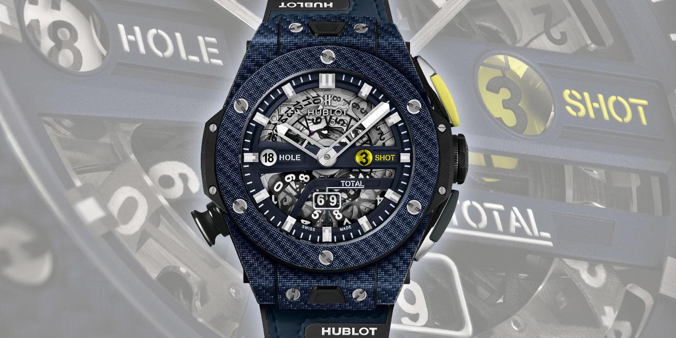 果嶺上的好夥伴:Hublot Big Bang Unico Golf限量冠軍藍高爾夫腕錶