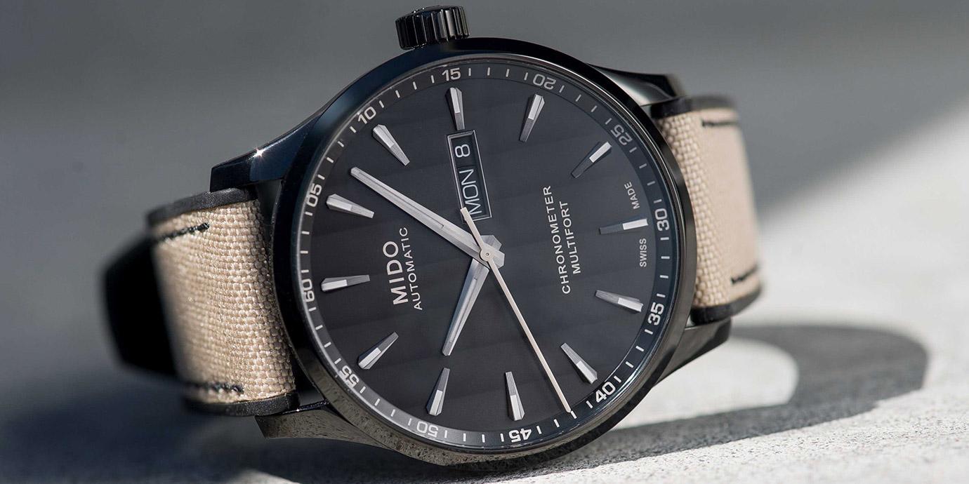 高CP親民價:Mido Multifort Chronometer 80小時天文台認證矽游絲腕錶