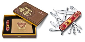 金豬探花迎豬年:Victorinox豬年瑞士軍刀限量版