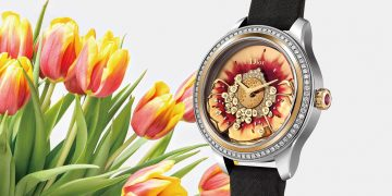 繽紛璀璨的絕美傑作:DIOR於巴黎蒙田大道總店發表2019年腕錶新作(之一)