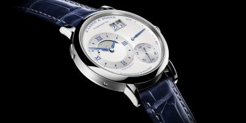 "二十五年一遇的月色:朗格Grand Lange 1 Moon Phase ""25th Anniversary"""