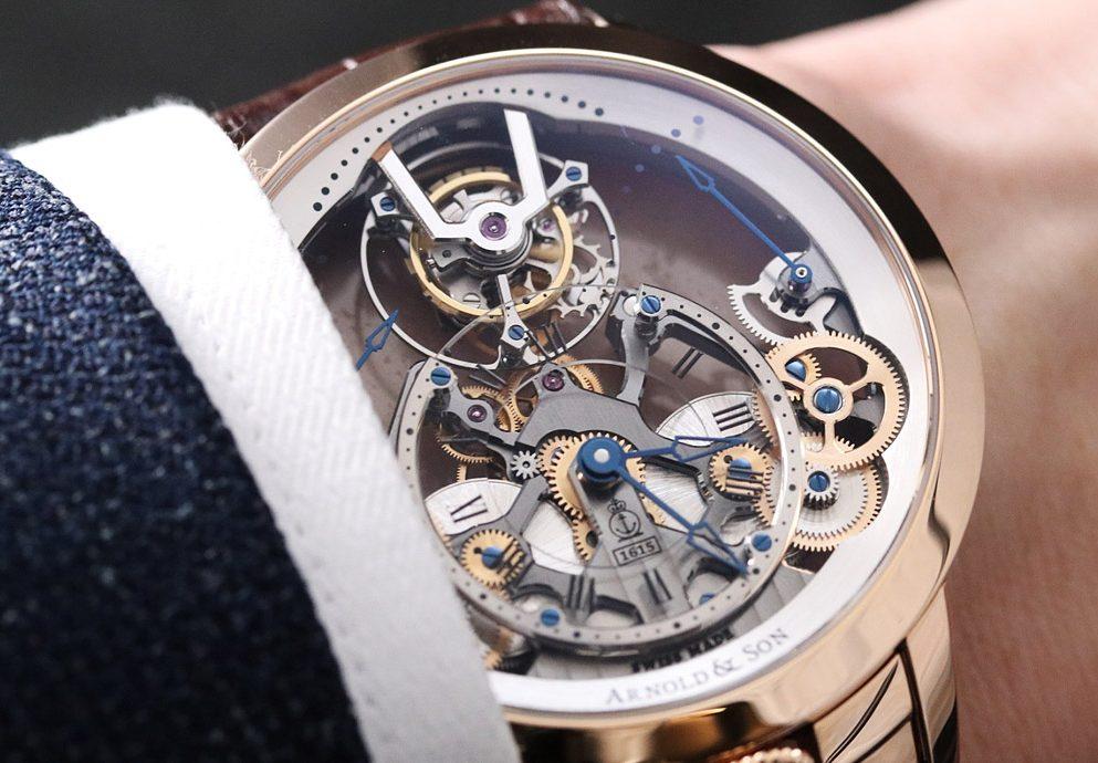 【2019 BASEL錶展報導】來自英倫皇室的典雅:Arnold & Son新品集合
