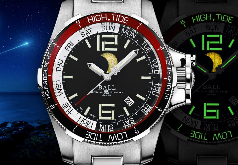 超亮月光:Ball Watch Engineer Hydrocarbon Moon Navigator