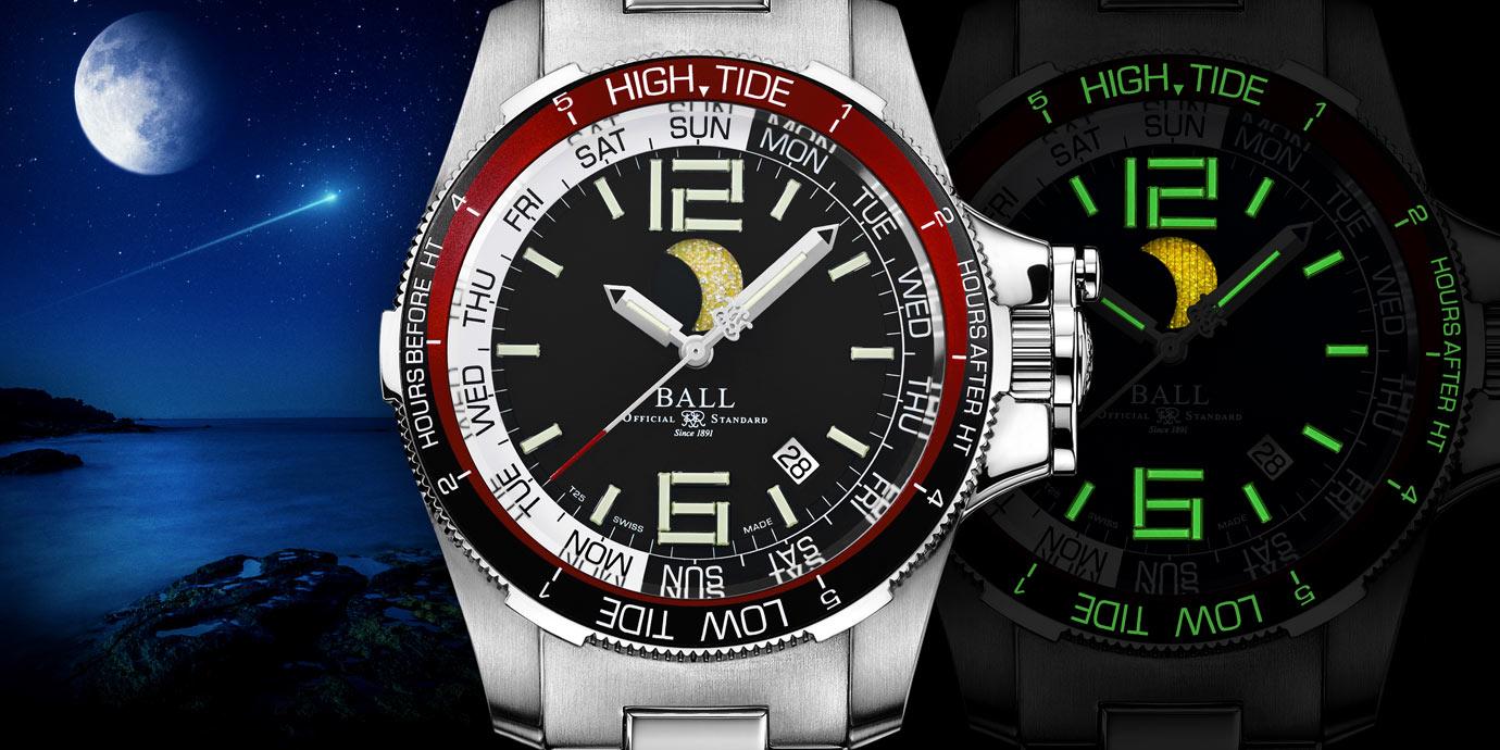 超亮月光:Ball Watch Engineer Hydrocarbon Moon Navigator