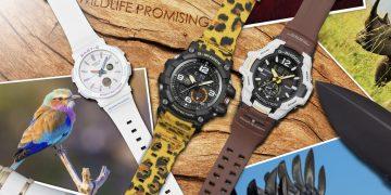 支持野生動物保育,G-SHOCK與BABY-G攜手WILDLIFE PROMISING野生動物保護組織推出聯名錶款