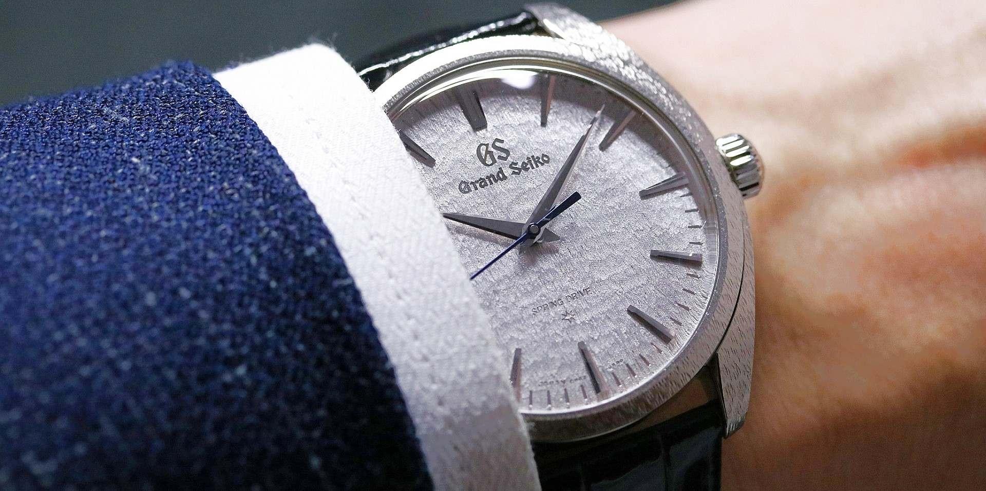 【2019 BASEL錶展報導】Grand Seiko Elegance Collection推出 Spring Drive 20 週年紀念腕錶