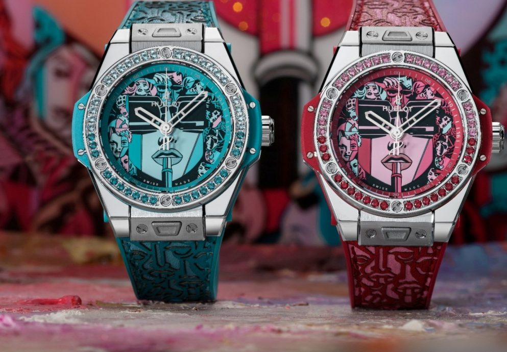 【2019 Pre-BASEL錶展報導】宇舶錶跨界藝術最新力作:Big Bang One Click Marc Ferrero 腕錶,展現當代女性多樣面貌