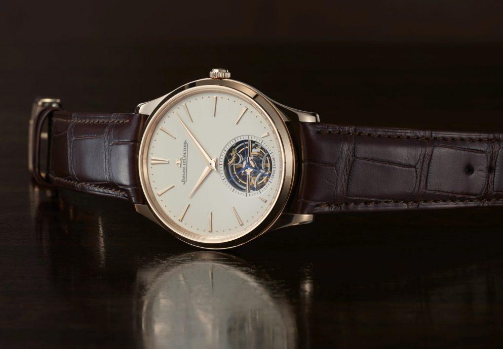 積家隆重推出MASTER ULTRA THIN TOURBILLON超薄大師系列陀飛輪腕錶玫瑰金款