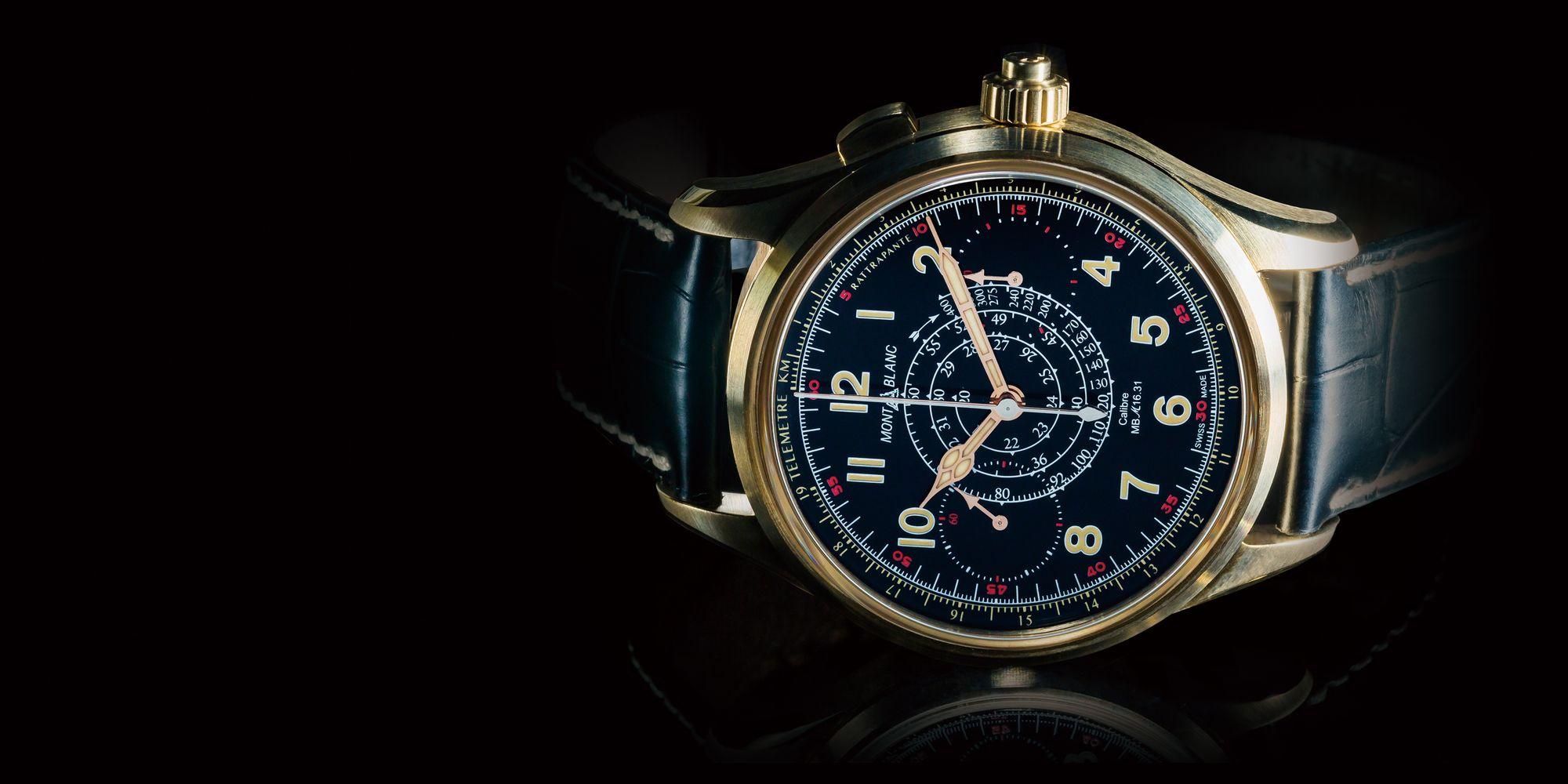 【每週一錶】高端的古典味:萬寶龍1858追針計時腕錶限量100