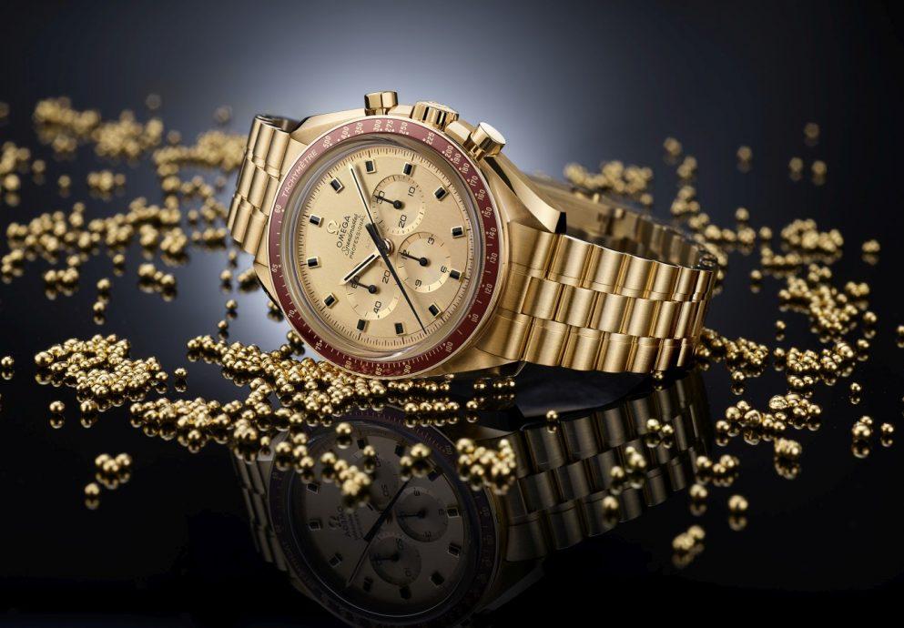 Apollo 11登月50週年,歐米茄推出《超霸阿波羅11號 50週年限量腕錶》