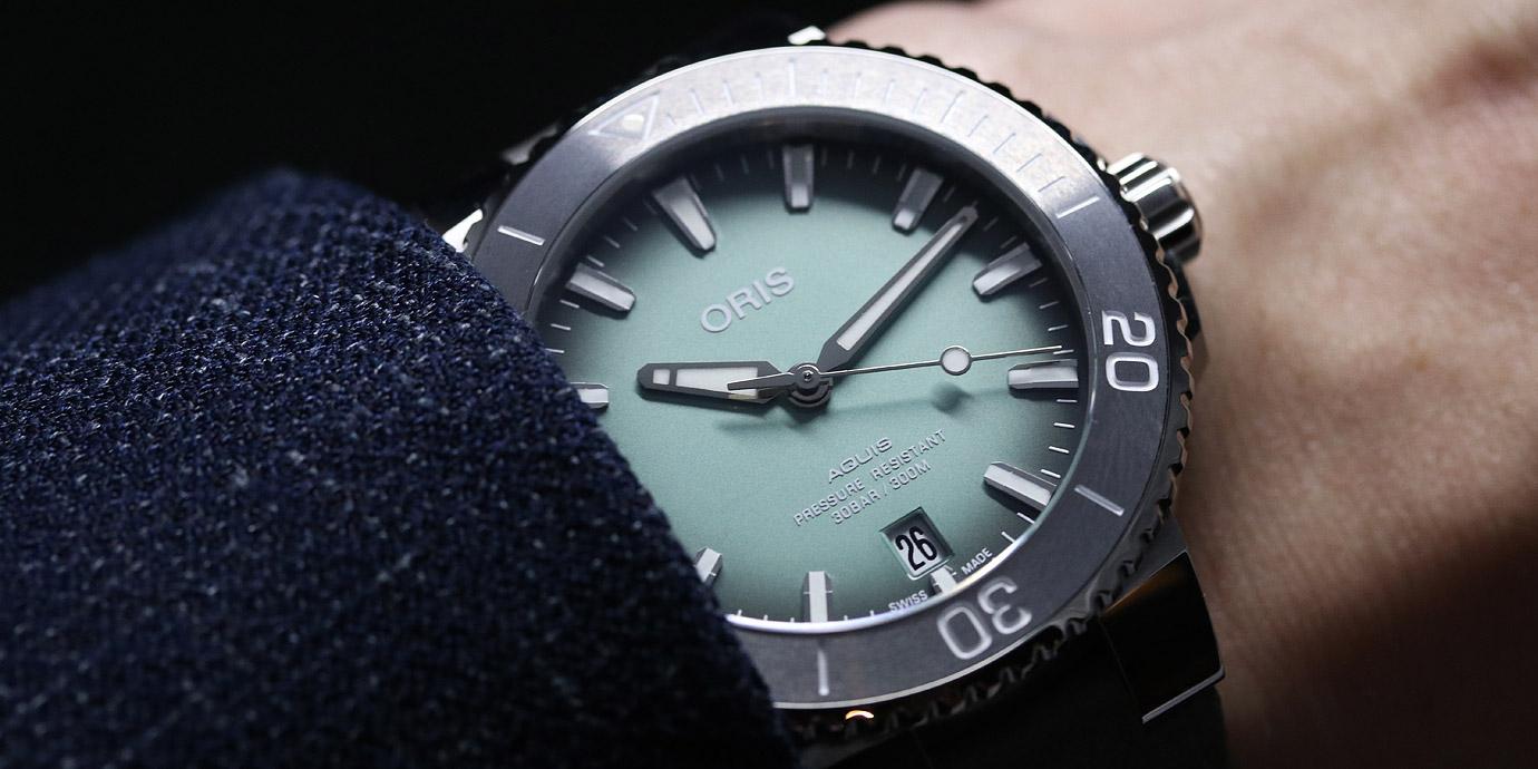 【2019 BASEL錶展報導】海洋大軍:Oris Aquis潛水錶大集合(附參考價錢)