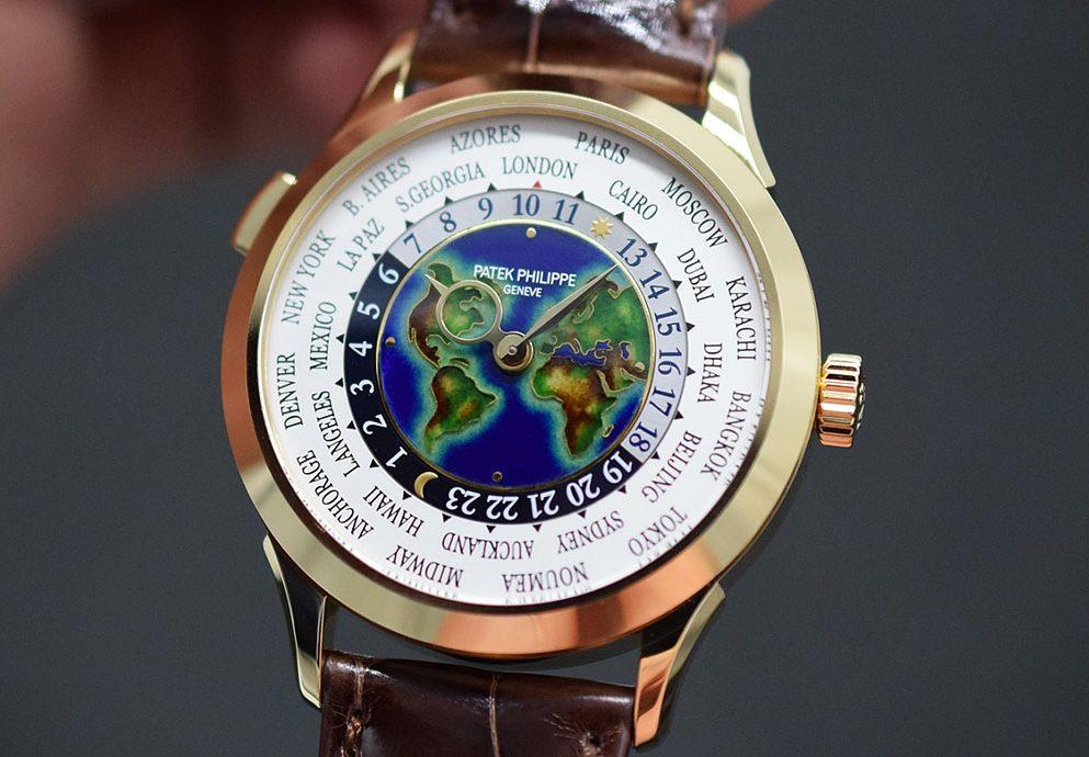 【2019 BASEL錶展報導】展現工藝新面貌:Patek Philippe 5231J掐絲琺瑯世界時間腕錶