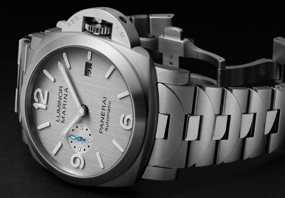 銀灰面貌:Panerai Luminor Marina全新錶款