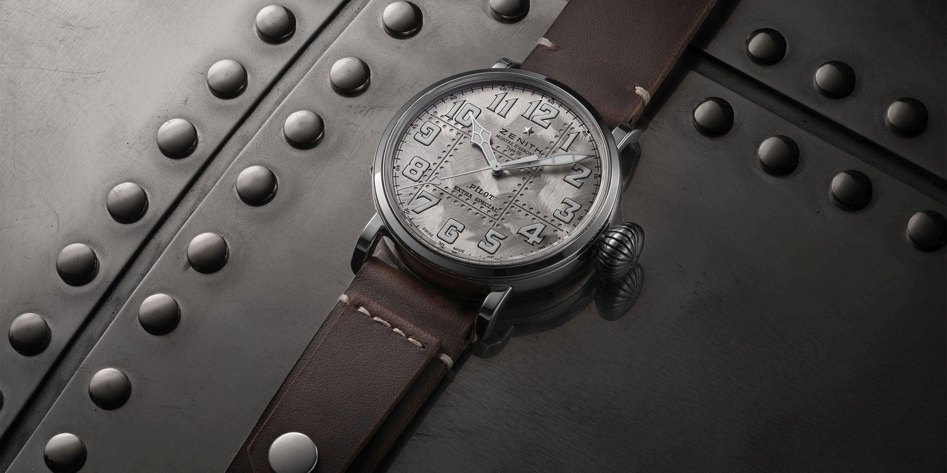 【2019 Pre-Basel報導】翱翔天際的銀色翅膀:ZENITH Pilot Type 20 Extra Special Silver 腕錶