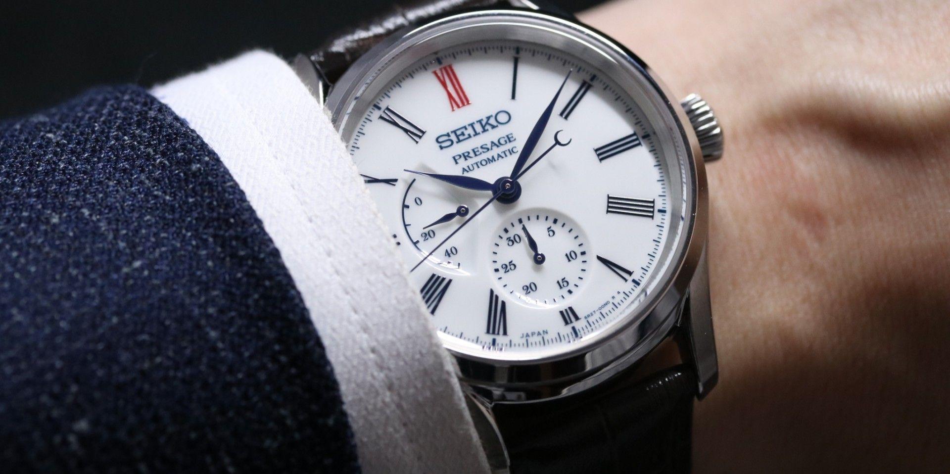 【2019 BASEL錶展報導】美麗的青花瓷:SEIKO Presage有田燒陶瓷錶盤腕錶