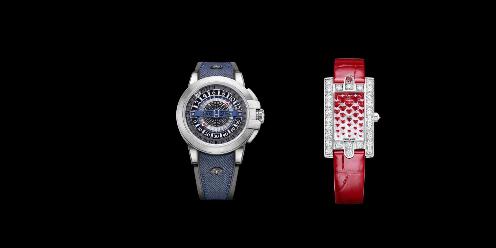 心動時刻,海瑞溫斯頓「錶」情意: Project Z12 及Avenue Classic 系列 Sweet Valentine腕錶