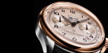 【2019 BASEL錶展報導】復古美學、經典回歸:寶齊萊傳承系列年曆雙盤計時碼錶