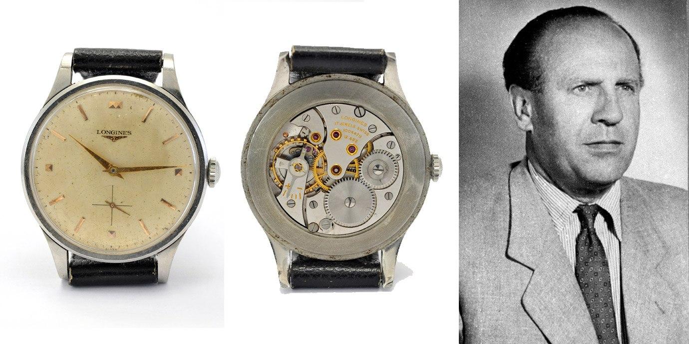 猶太英雄辛德勒與他的Longines腕錶