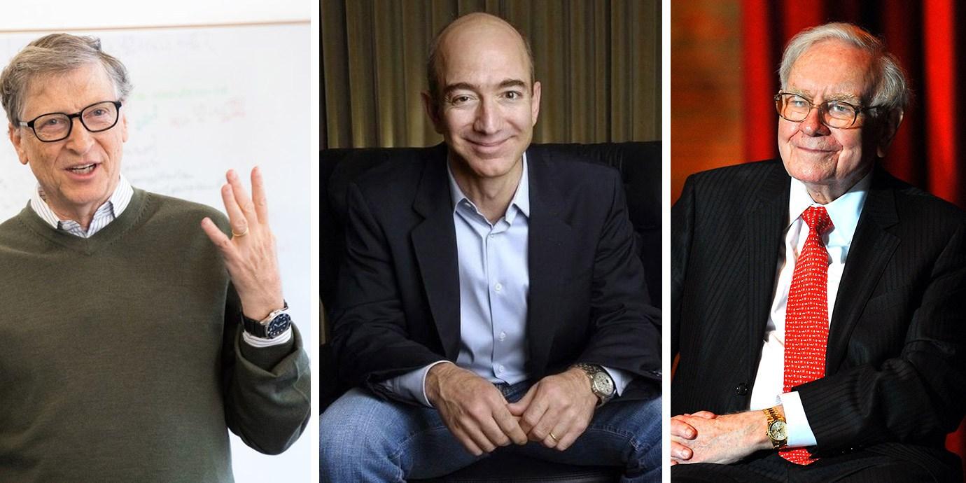 【錶語時事】世界前三大富豪戴什麼錶?