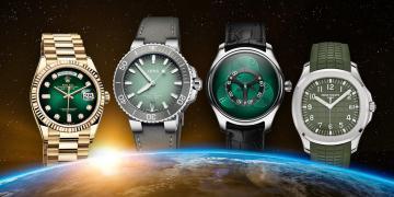 迎接世界地球日:矚目綠面腕錶好應景!