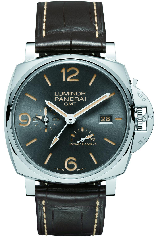 沛納海 Luminor Due 三日動力儲能兩地時間腕錶 PAM00944