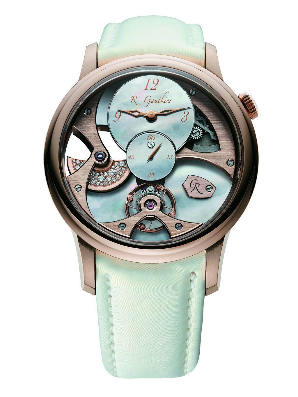 Romain Gauthier Insight Micro-Rotor Red Gold