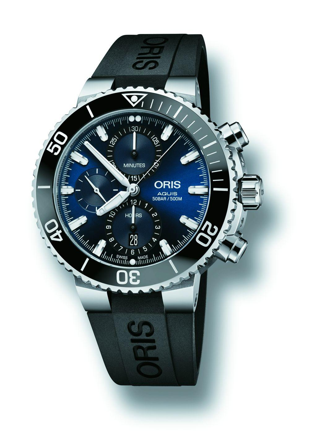 ORIS Aquis計時碼錶
