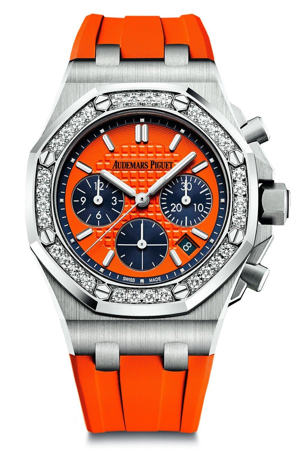 愛彼皇家橡樹離岸型自動上鍊計時碼錶