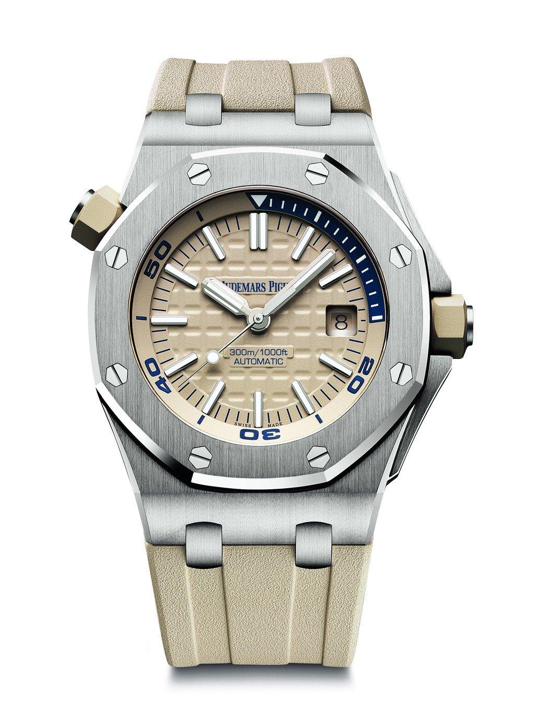 愛彼皇家橡樹離岸型潛水腕錶