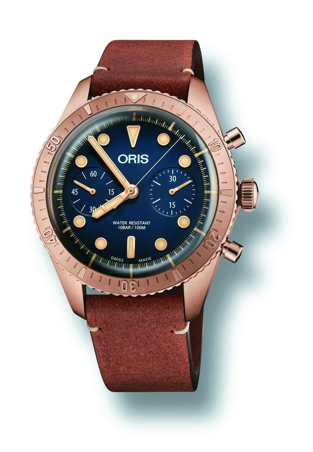 ORIS Carl Brashear青銅限量計時碼錶