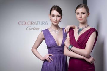 卡地亞COLORATURA珠寶展 5億鑽鍊超閃