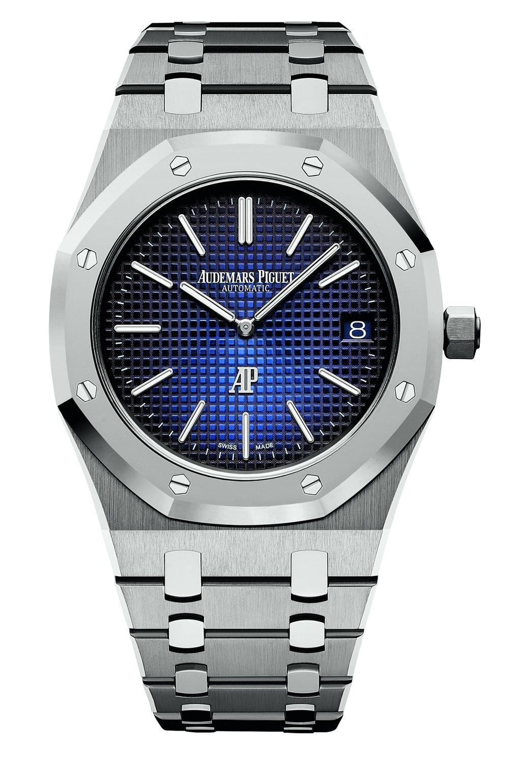 愛彼皇家橡樹「Jumbo」超薄腕錶