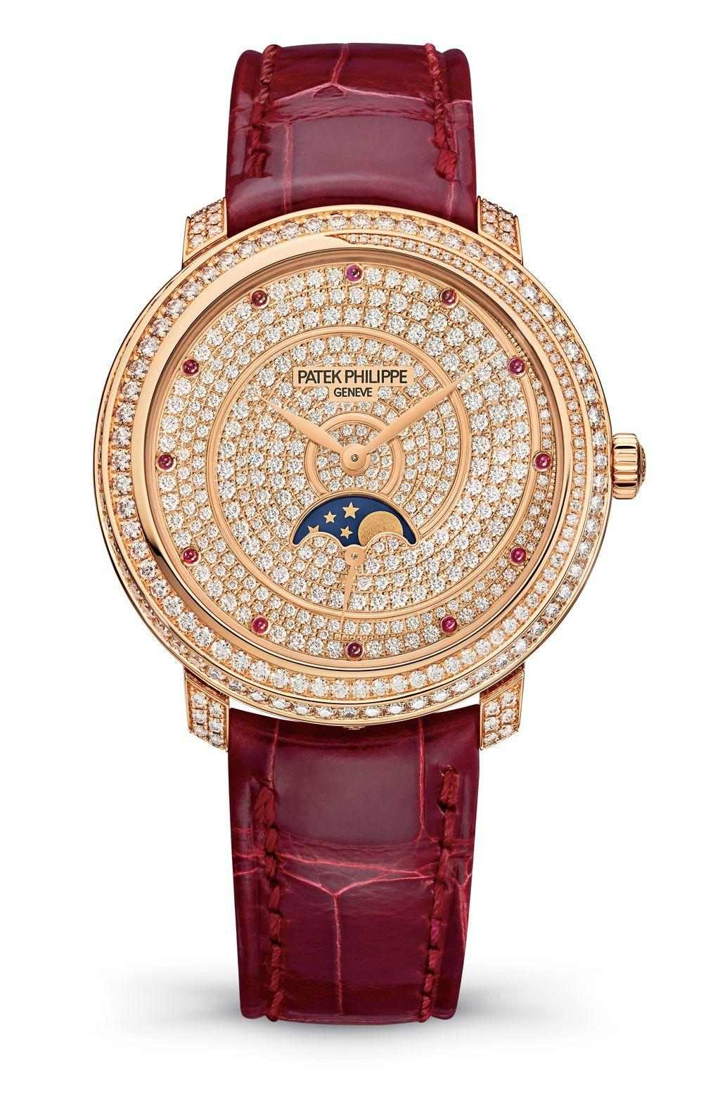 百達翡麗 4968/400R-001月相錶