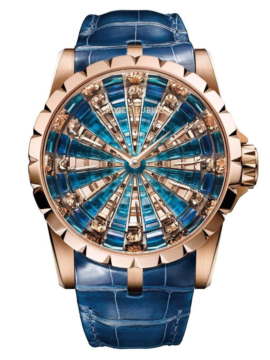 Roger Dubuis Excalibur The Knights of the Round Table 圓桌騎士腕錶