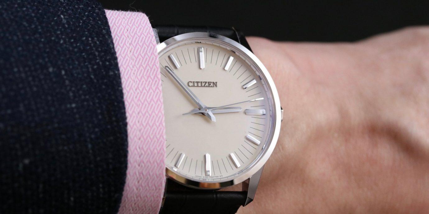 與光同行!CITIZEN光動能腕錶的精準與強悍