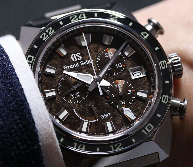 【每週一錶】霸氣的獅子:Grand Seiko Spring Drive Chronograph GMT