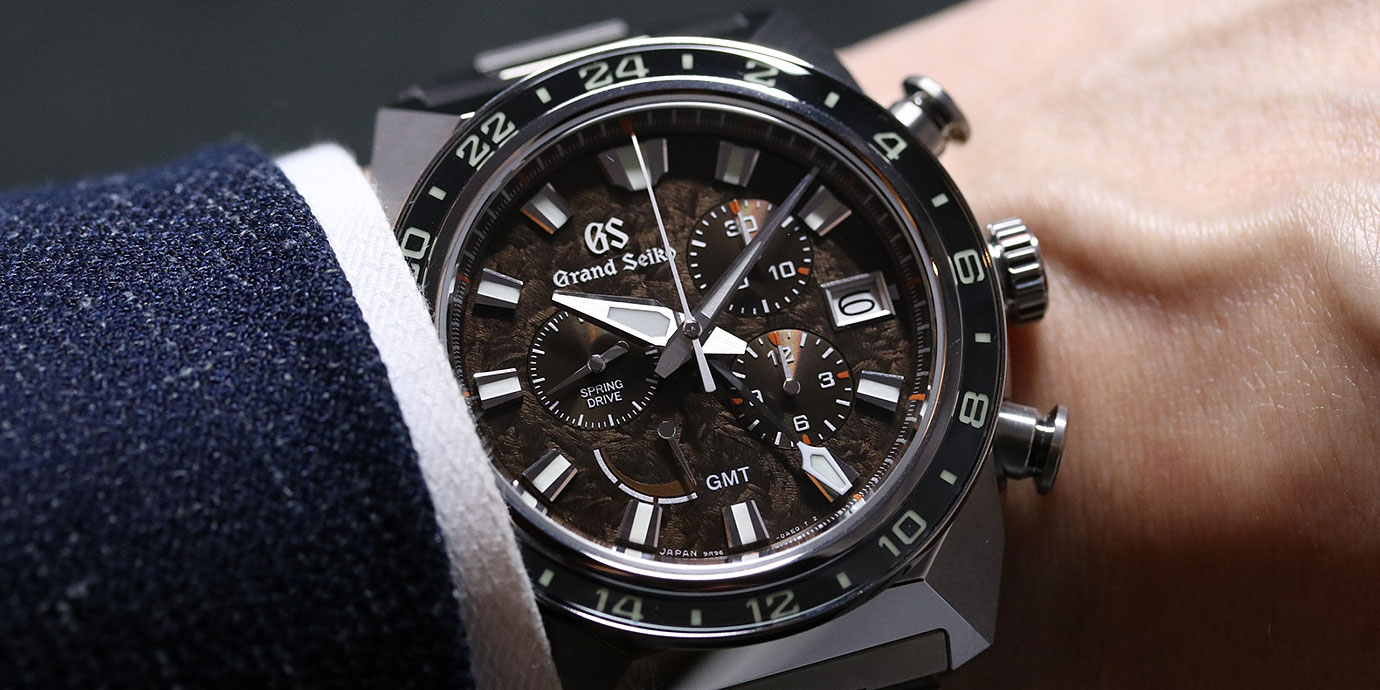 【每週一錶】霸氣的獅子:Grand Seiko Spring Drive Chronograph GMT