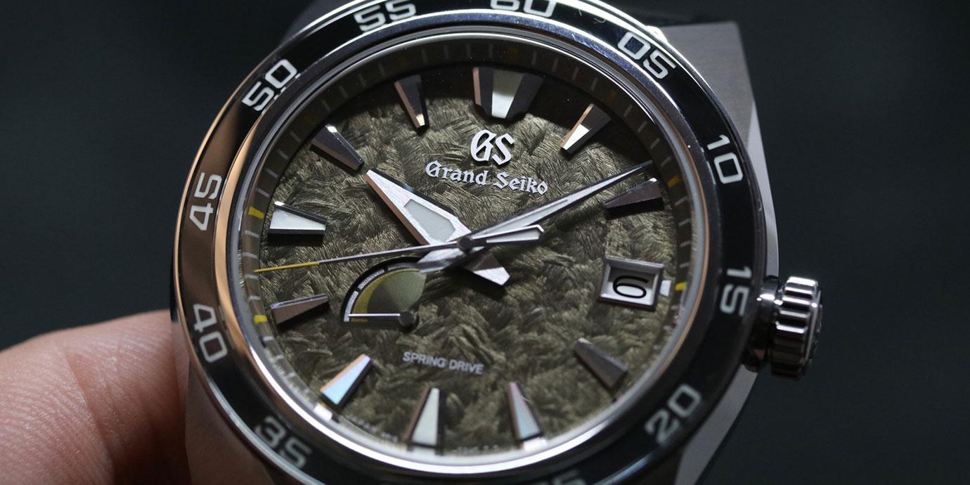【2019 BASEL錶展報導】伸出利爪的獅子:Grand Seiko Spring Drive 20週年限定款