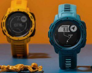 超潮的智慧腕錶:Garmin Instinct GPS