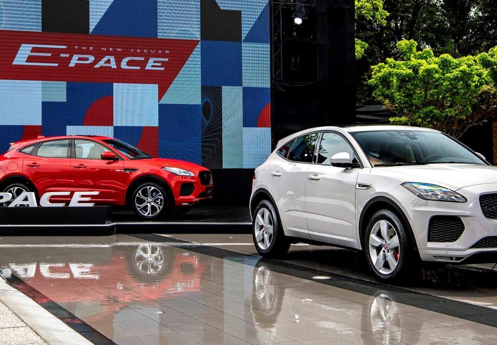 小休旅豹來了,Jaguar E-PACE 179萬起搶市