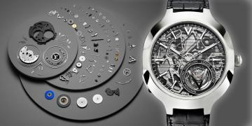 LV的複雜大秀:路易威登Voyager Minute Repeater Flying Tourbillon