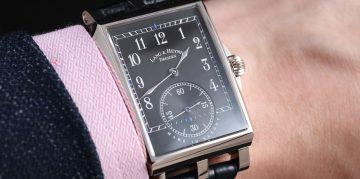 【2019 BASEL錶展報導】Lang & Heyne 推出 Georg 黑色電鍍銀質面盤新款式