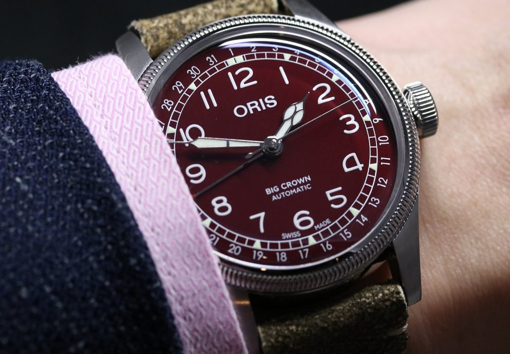 【2019 BASEL錶展報導】紅綠藍三色大軍襲來:ORIS Big Crown 指針式日期錶推出迷人新款