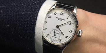 有些錶跟人一樣,深藏不露:百達翡麗Ref. 3939H三問陀飛輪腕錶