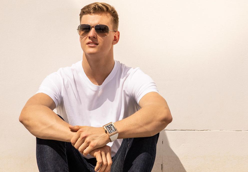 英雄出少年:德國賽車手Mick Schumacher成為RICHARD MILLE之友