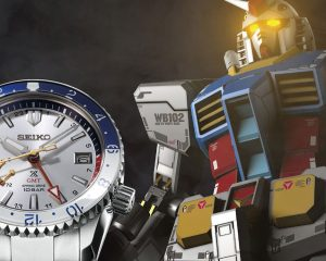 與鋼彈重磅聯名:Seiko x Gundam限量錶款(Video)