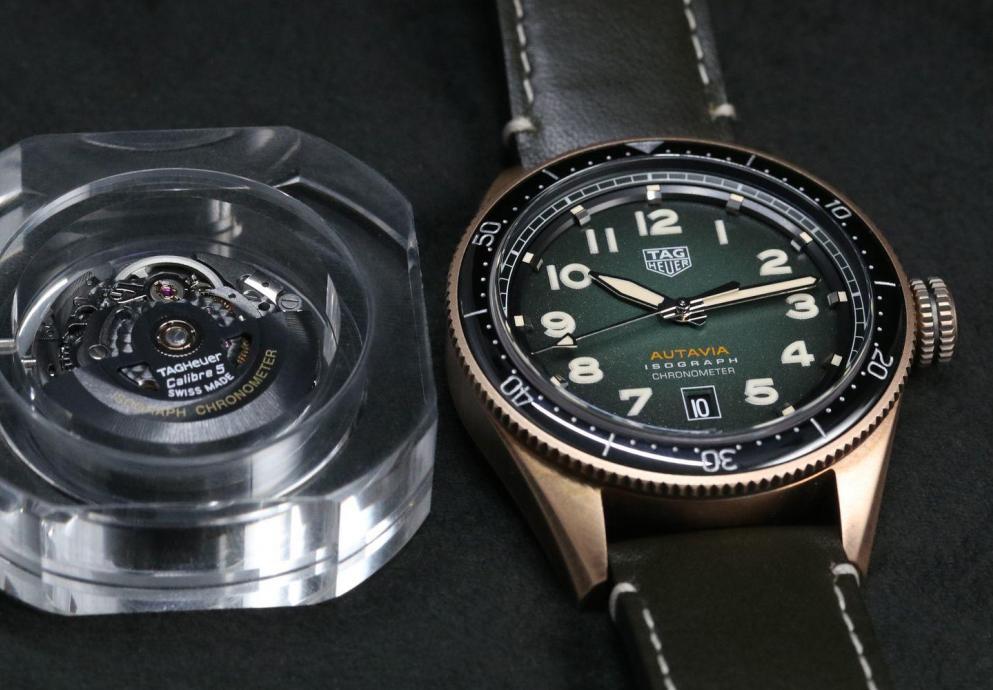 【每週一錶】史上最強游絲?TAG Heuer Autavia Isograph腕錶